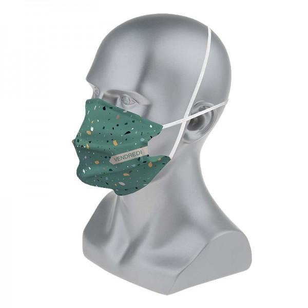Masque barrière fantaisie homme : lot de 5 masques