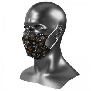 Masque barrière Uns 1 édition noël 2020 jour de neige