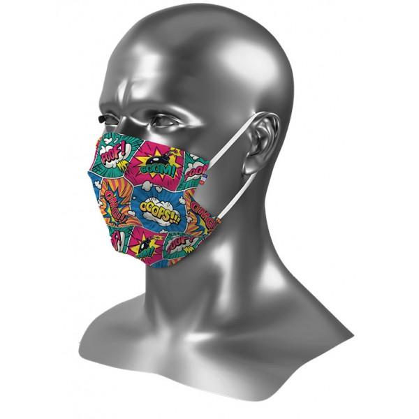 Masque tissu enfant personnalisé Uns 1 comics 1
