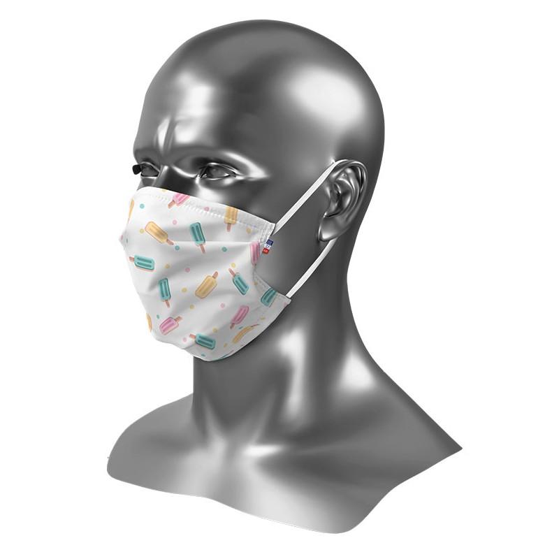 Masque barrière enfant personnalisé Uns 1 Glace