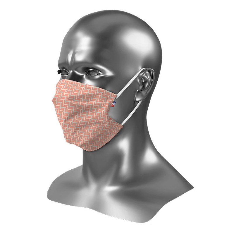 Masque Barrière Femme Tissu Personnalisé Uns 1