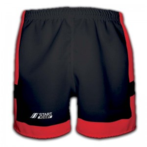Short de rugby Mixte collection corail