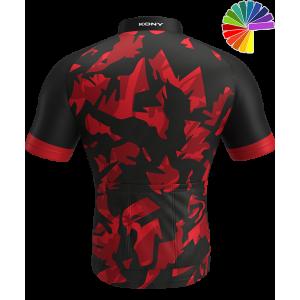 Personnalisation Maillot Cyclisme. Spécial Performance. KONY START