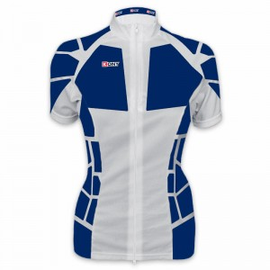 Maillot vélo femme manches courtes collection Aspin kony cyclisme