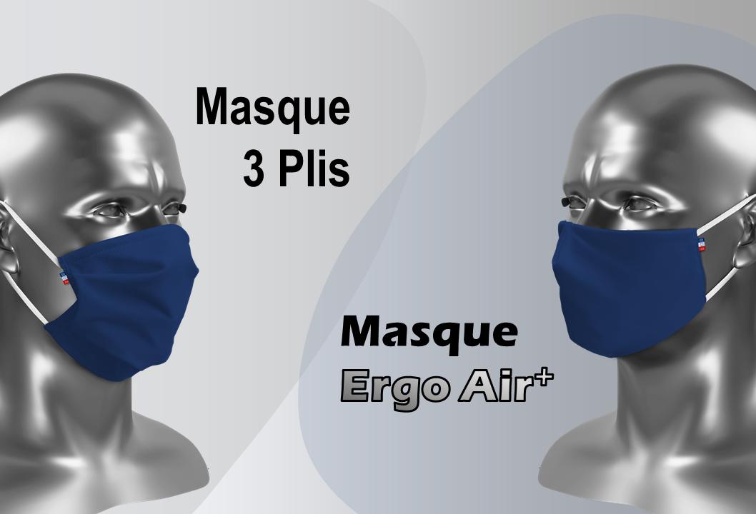 Masque Grand public catégorie 1 pour le sport