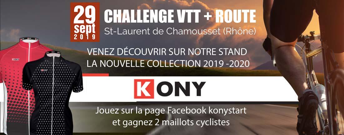 Kony challenge Vtt tour st Laurent de Chamousset 2019