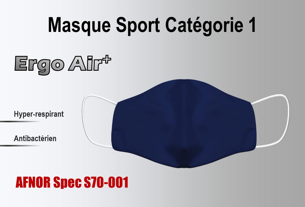 Masque Catégorie 1 sport